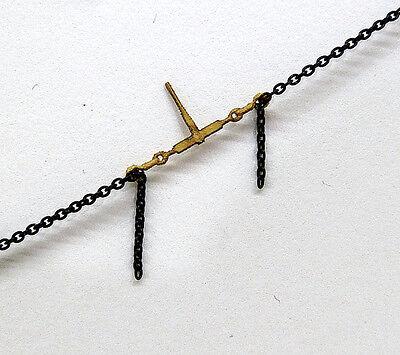 HO 1:87 Scale Ratchet Style Chain Binders for Flatcar & Truck Loads - 110102