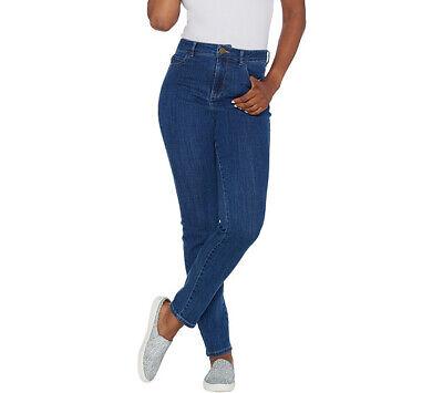 Logo Skinny Jean - A309792 LOGO by Lori Goldstein Regular Skinny Leg High Waisted Jeans-361
