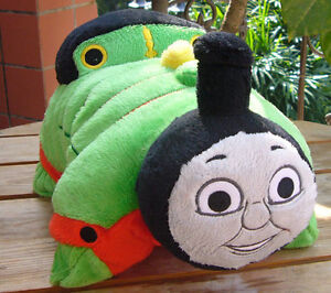 NEW-ARRIVAL-THOMAS-TANK-ENGINE-FRIENDS-PERCY-Pillow-Pets-Plush-Pillow-Toy-SOFT