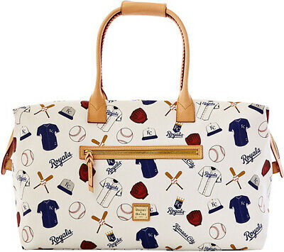 DOONEY & BOURKE~MLB KC ROYALS Duffel Bag Baseball Weekend Serie~New without tags