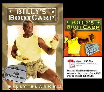 TAE BO AB BOOTCAMP Billy Blanks TaeBo NEW DVD + FREE Health & Fitness BONUSES for sale  Shipping to India