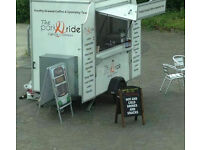 MOBILE COFFEE CATERING TRAILER (The park & ride coffee company)