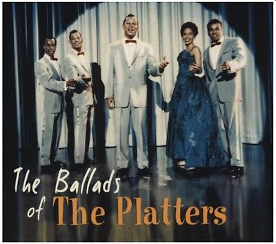Rock 'n Roll CD - The Platters - The Ballads of The Platters - Bear Family - NEW