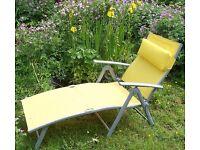 "Garden lounger / sunbed: ""Havana"""