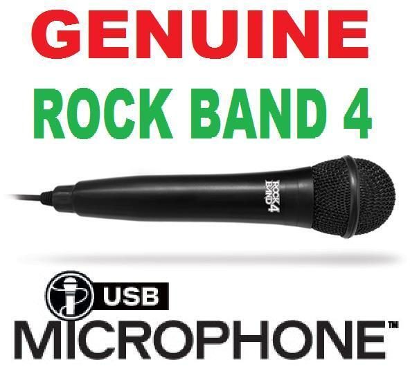 Genuine Mad Catz Usb Microphone For Rock Band 4 3 Xbox On...