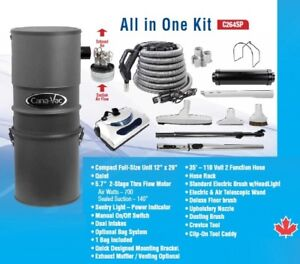 Central Vacuum Package . Only $499. Made in Canada!