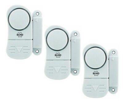 Mini Tür und Fensteralarm 3er-Pack Alarm Türalarm ELRO Minialarm NEU