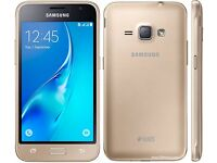 Brand New Samsung Galaxy Gold J1 Duos 8GB Dual Micro Sim 5MP Camera Android Smartphone Unlocked Boxd