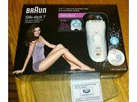 Braun silk epil 7921e wet and dry epilator, brand with receipt