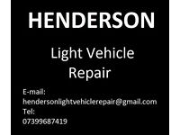 HENDERSON Mobile mechanic in light vehicles,same day repair !No CALL OUT CHARGE.