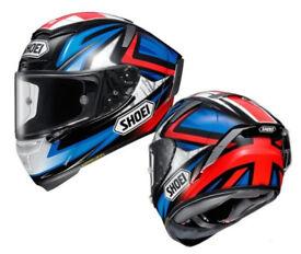 Shoei Helmet X-Fourteen (X-Spirit 3) Bradley3 - Size: XS / S / M / L / XL / XXL