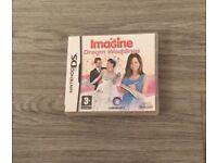 Nintendo ds imagine dream weddings game