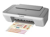 Canon Pixma MG2450 All‑in‑One Inkjet with a full set of inks