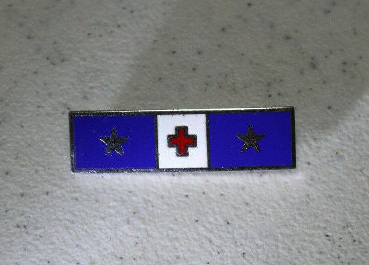 American Red Cross Service Bar 2 Stars Officer Insignia