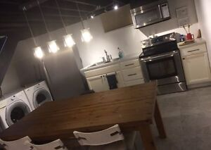 Fully Furnished Basement for Rent in Windsor