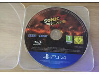 PlayStation 4 Sonic Forces NO CASE