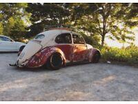 classic beetle 1969/70 rat rod