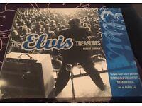 Elvis Treasures memorabilia book