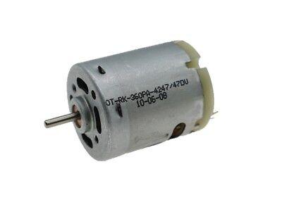 Rk-360 Dc 6v 9v 12v 20000rpm High Speed Motor Micro Round 27mm Electric Motor