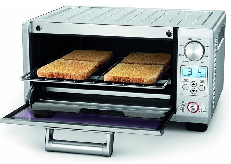 Breville Bov450xl Mini Smart Oven With Element Iq Grille