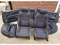 Audi A4 B6 SALOON sport seats front and rear interior 2004 vgc