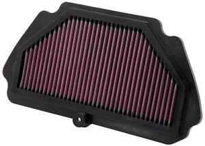 K&N Kawasaki Performance Filter - ZX6R Ninja 600 2009-2017 2016