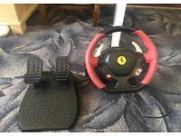 Thrustmaster Ferrari 458 Spider Wheel and Pedals - 35 ONO