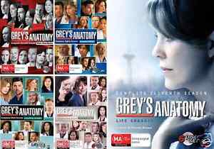 Grey's Anatomy COMPLETE SEASONS 7, 8, 9, 10 & 11 : NEW DVD