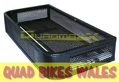 Universal Quad Bike Metal Front Rack Tray Basket