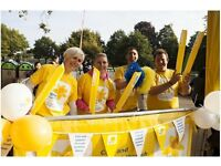 Join the Great Scottish Run Cheer Station for Marie Curie