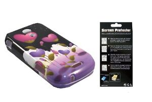 Screen Protector +EP RoseHt Cover Case for Samsung Epic 4G Galaxy S Pro SPH-D700
