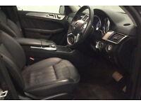 GREY MERCEDES-BENZ GL350 3.0 CDI B/T AMG SPORT FROM £205 PER WEEK!
