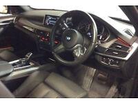 Black BMW X5 3.0TD Steptronic 2015 xDrive40d M Sport FROM £175 PER WEEK!