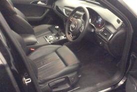 Black AUDI A6 AVANT ESTATE 2.0 3.0 TDI Diesel SPORTS LINE FROM £93 PER WEEK!
