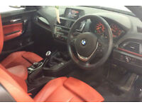 Alpine White BMW 218 convertible 1.5 Petrol 2015 i Sport FROM £72 PER WEEK!