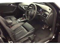 Black AUDI A6 SALOON 2.0 3.0 TDI Diesel SPORTS LINE FROM £109 PER WEEK!