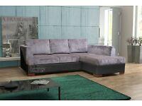 Camdem sofabed bed sofa corner grey black mink beige cream brown fabric