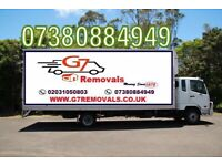 CHEAPEST MAN AND VAN 7.5 TONNE TRUCK HIRE WITH DRIVER FULL HOUSE FLAT REMOVALS MOVING VAN