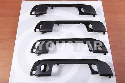 NEW x4 set Front + Rear Exterior Door Handles + Gaskets for BMW 3 5 Seri E36 E34