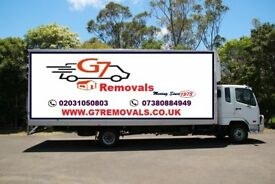 FROM £20 LUTON VAN AND 7.5 TONNE TRUCK CHEAPEST MAN AND VAN REMOVAL SERVICES FULLY INSURED
