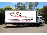 TRANSPORT AND STORAGE SERVICES LUTON VAN 7.5 TONNE AND 18 TONNE LORRY WITH DRIVER FULLY INSURED