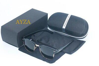 AYZA Herren Sonnenbrille Nerd Polarisiert 100% UV 400 Schwarzgold
