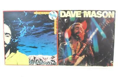 Lot of 2 Dave Mason 12in 33rpm Vinyl LP Records Certified 1976 Let It Flow 1977