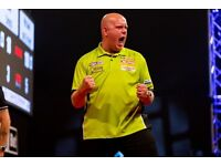 3 x TICKETS TO DARTS WORLD MATCHPLAY FINAL, AMAZING TABLE IN LINE WITH OCHE! Must meet in London