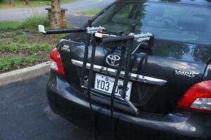 EURO TRIO 3 BIKE TRUNK MOUNT RACK $100 + VALUE