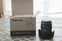 Tokina 11-16mm f/2.8 DX (CANON)