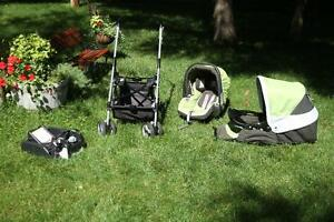Cleanest luxury Italian Stroller/childseat -Peg-Perego  kit $899