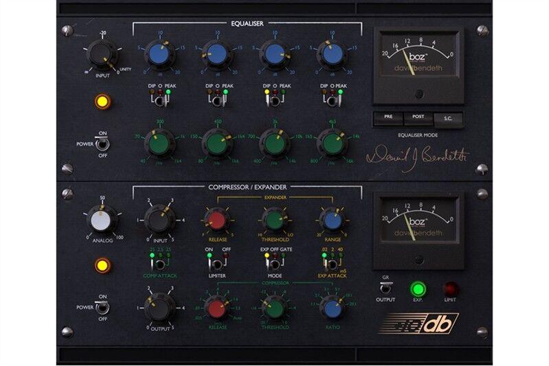 Boz Digital Labs BozBendeth Bundle compressor,EQ, channel strip plug-in download