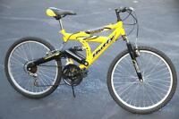 Dual suspension mountain bike - 26 inch