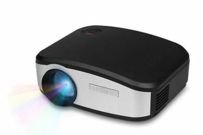 C6 Mini LED Projector - Black/Silver